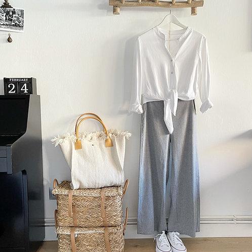 blusa nudo blanca