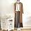 Thumbnail: chaqueta larga Roma camel