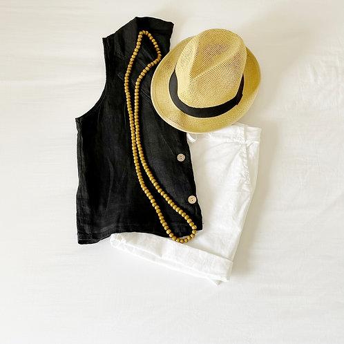 blusa Amelie negra