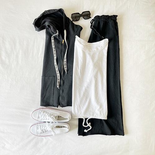 pantalón Sintra chandal negro