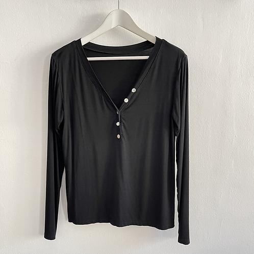 camiseta Biarritz negra