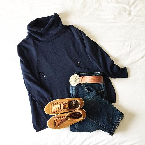 jersey Grenoble marino