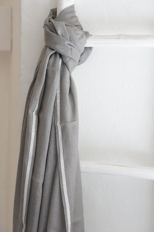 pashmina gris
