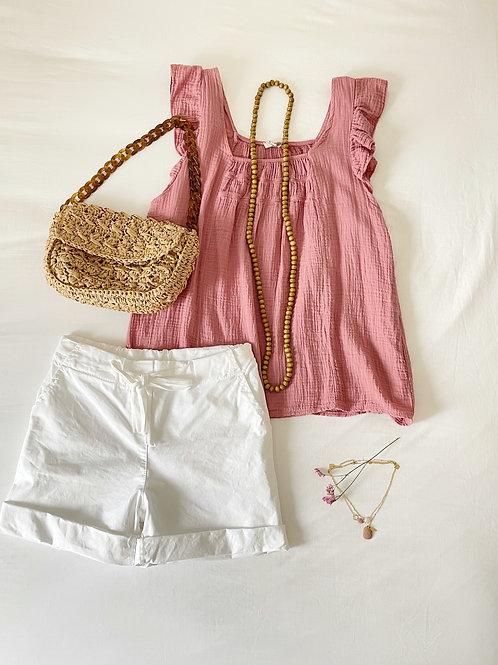 blusa Alice rosa
