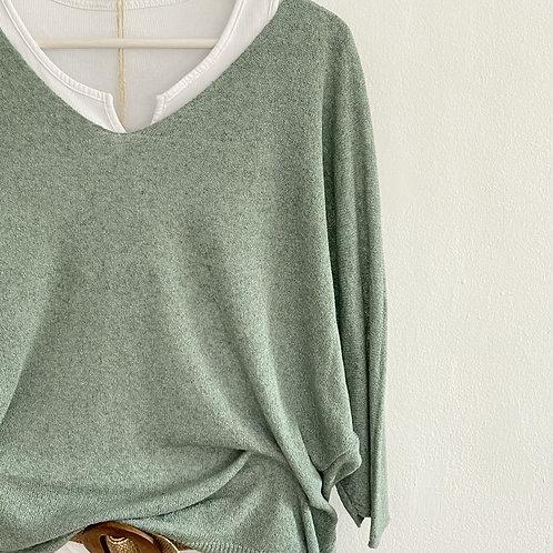jersey Valentina verde agua
