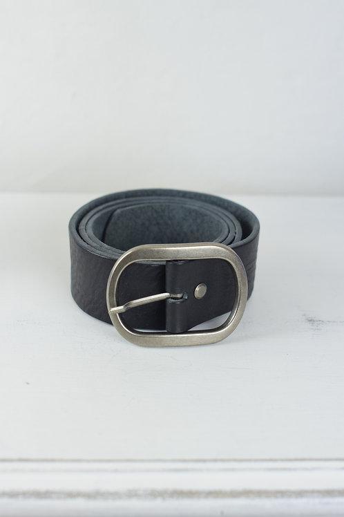 cinturón hebilla negro
