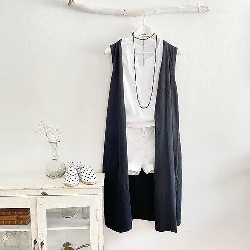 chaleco Cotton negro