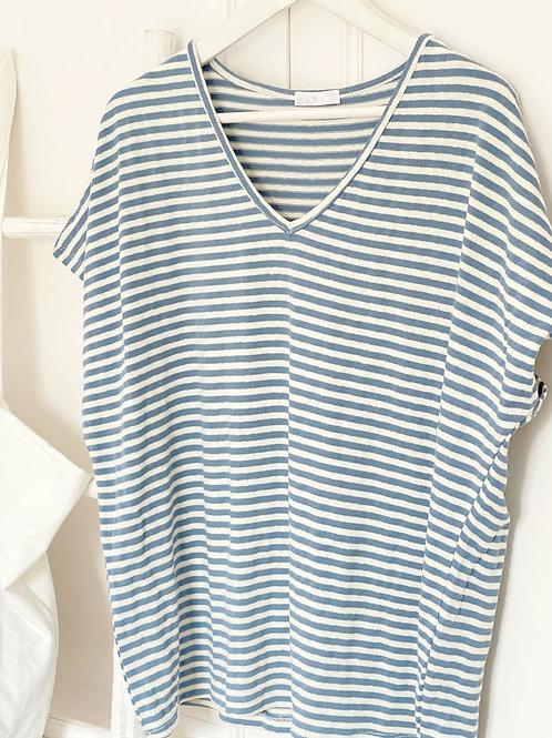 camiseta Atlàntic azul