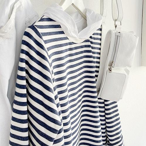 jersey Marsella azul-blanco
