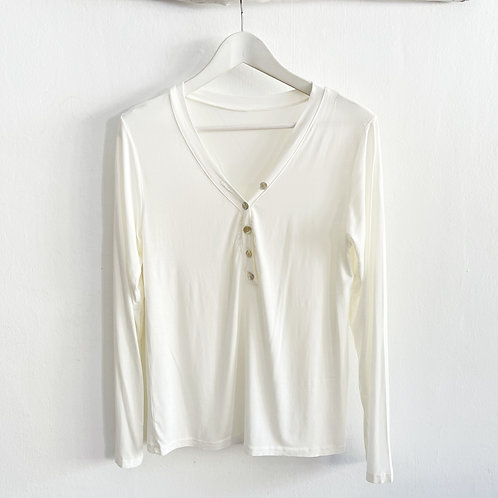 camiseta Biarritz blanca