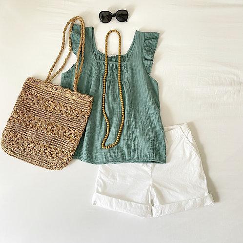 blusa Alice verde