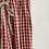 Thumbnail: falda vichy grande roja