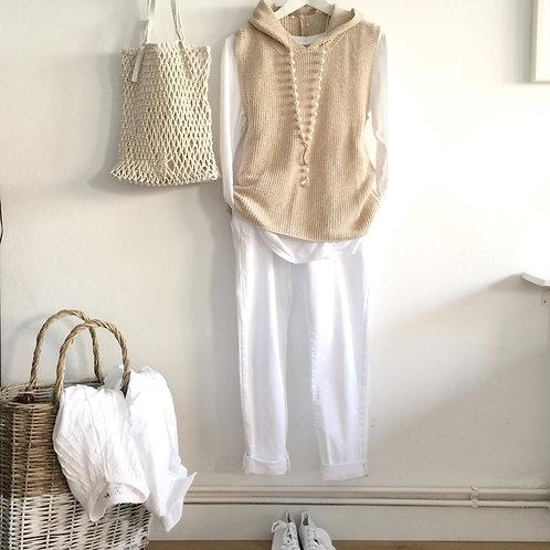 pantalón Olivia blanco