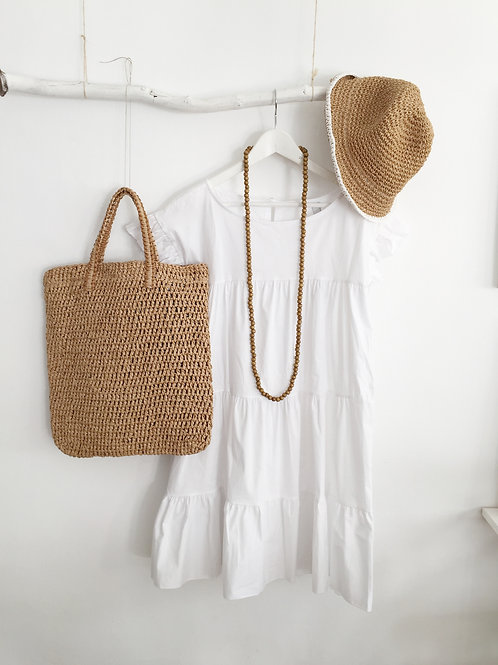 vestido Diana blanco