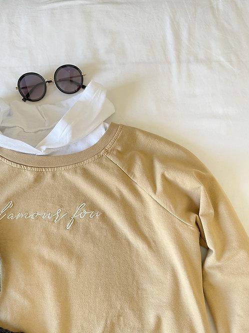 camiseta capucha blanca