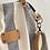 Thumbnail: bolso bandolera rayas gris