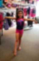 The Dancer Closet  young girl gymnast