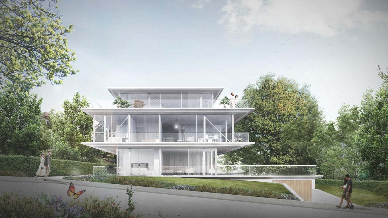 Drei moderne luxeriöse Eigentumswohnungen in Oberwil