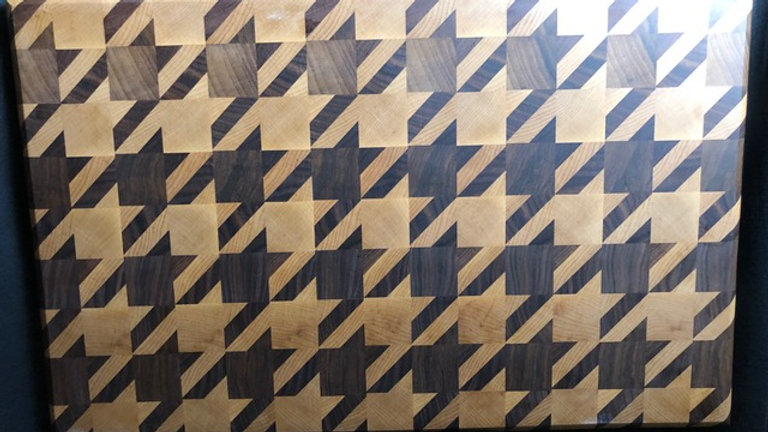 Houndstooth Cutting Board