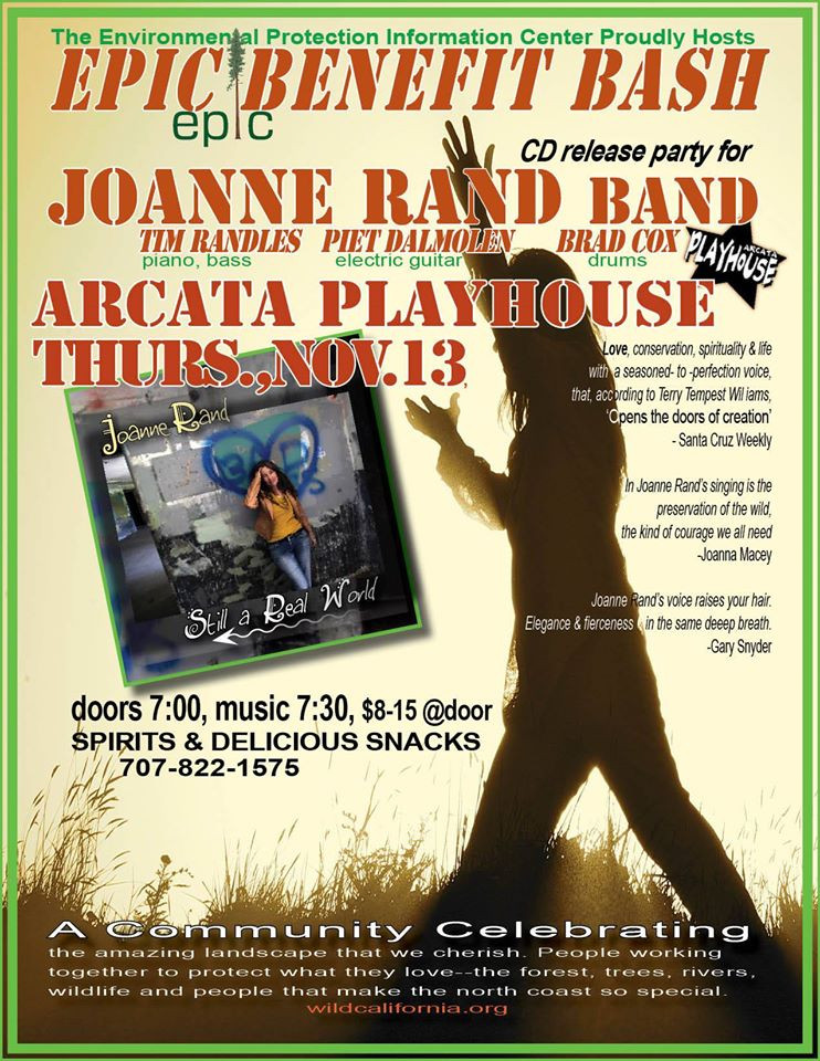 Joanne Rand Band EPIC Poster