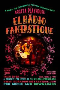 El Radio Fantastique plays the Arcata Playhouse Thursday, April 3