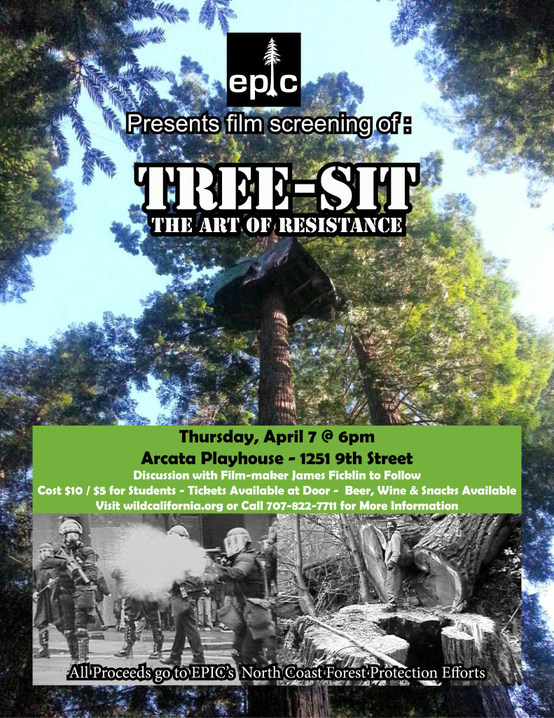 Tree Sit Poster Updated