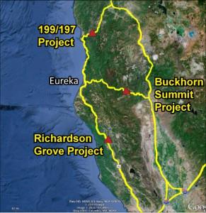 North Coast Caltrans Projects