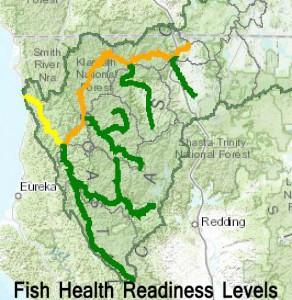 Fish Health Readiness Levels for Klamath
