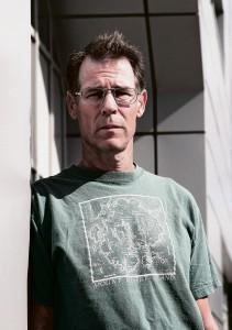 Author Kim Stanley Robinson speaks in Arcata