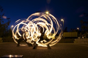 EPIC Gala Fire Spinning
