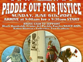 Join Us: 2nd Annual Paddle Out For Justice On June 6th!