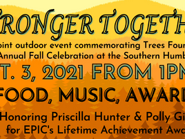CANCELLED- Join Us For EPIC's Annual Fall Celebration & Trees Foundation's 30th Anniversary