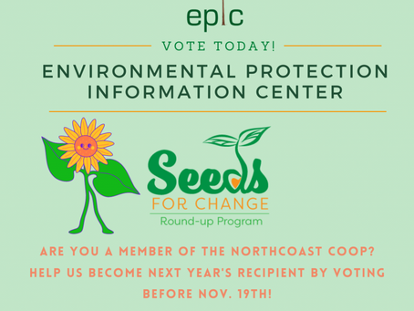 Are You A North Coast Co-op Member? Vote For EPIC By Nov. 19th!