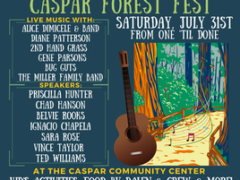 You're Invited To The Caspar Forest Fest!