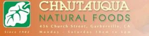 Thanks to Chautauqua Natural Foods