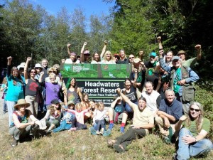 Headwaters Forest Reserve 20 Anniversary Hike