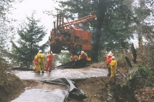 Drilling Last Chance Grade