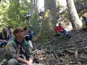 Tour of Mattole Timber Harvest Plans