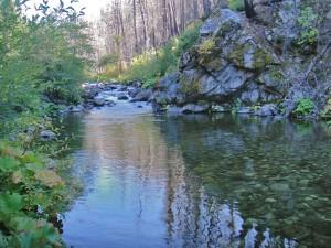 ElkCreek, near Happy Camp, flows into the Klamath River
