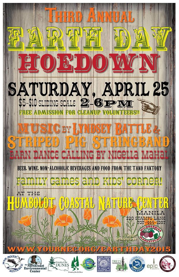 Earthday Cleanup & Hoedown