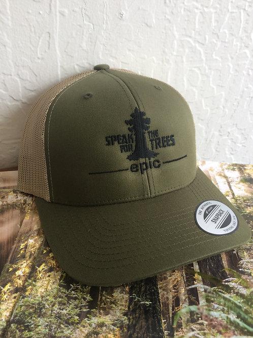 Speak For The Trees Trucker Hat
