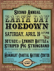 Earth Day Beach Clean-up and Hoedown
