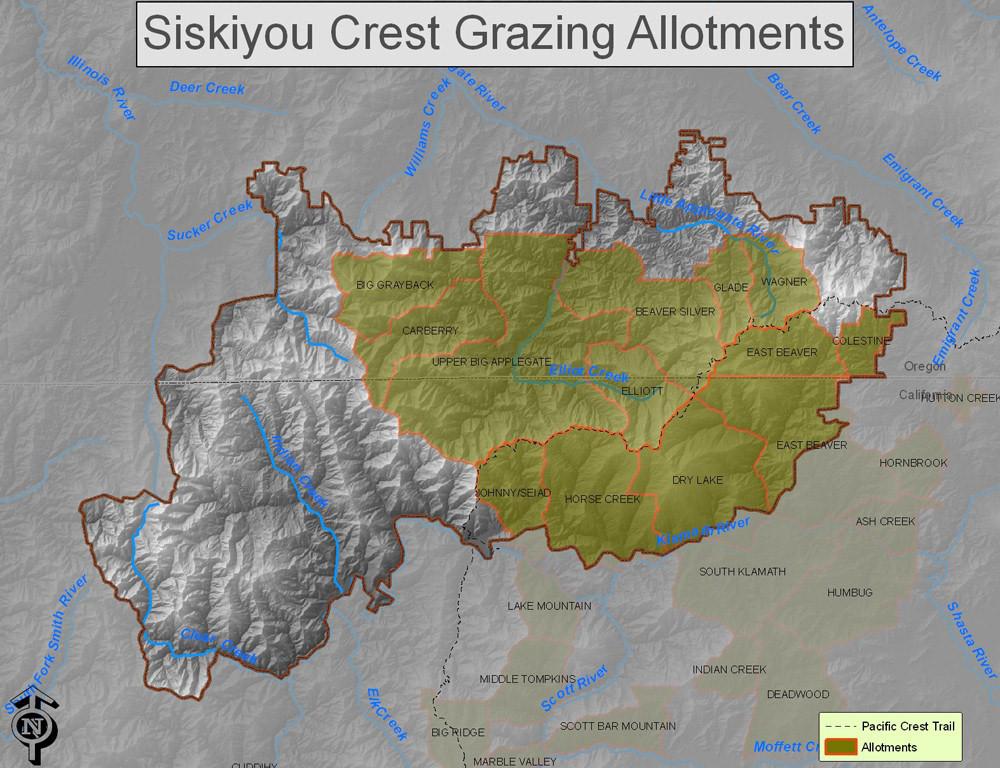 siskiyou grazing allotments
