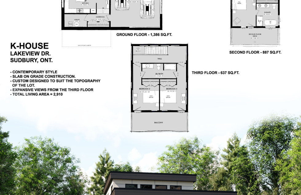 K-House  - Option A - Presentation Board