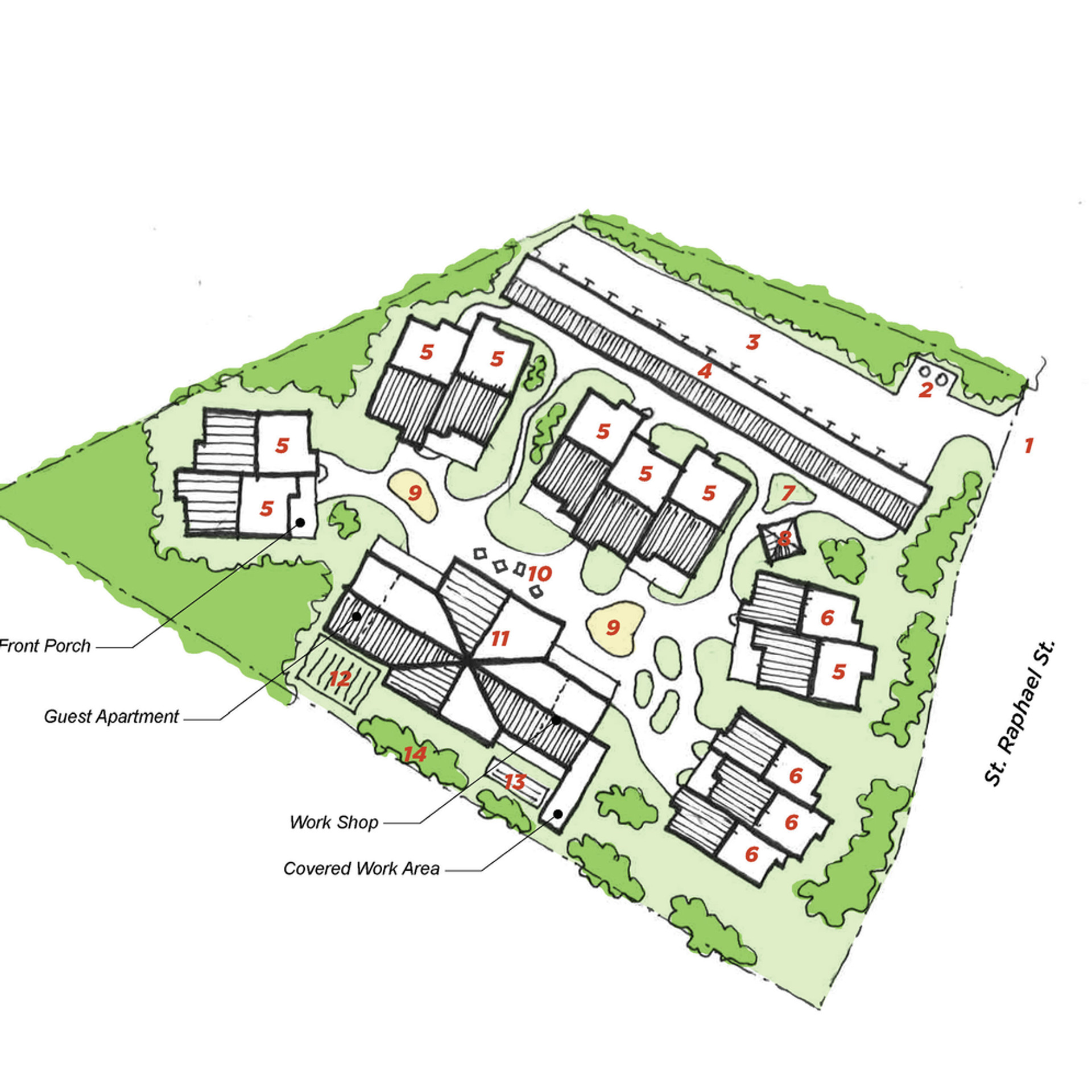 Sweetfern Co-housing Site Study