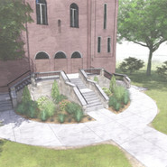 Christ the King Stair Upgrades