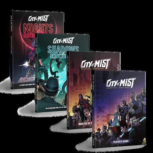 City of Mist RPG - All Books Bundle