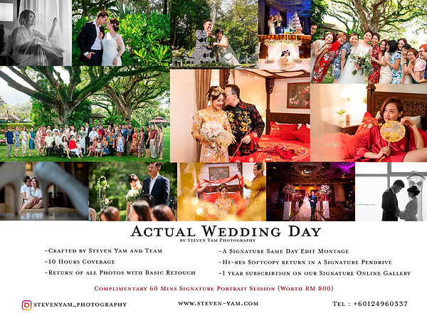 Wedding Day Package