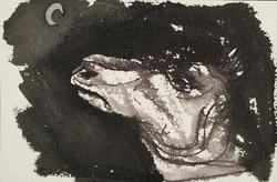 Ilya Grinberg - Ane à la lune