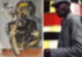 """""""Ilya Grinberg"""" ilya Grinberg peinture christ dessin front national"""
